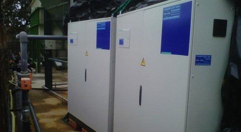 Desinfección y control olores reutilización agua residual