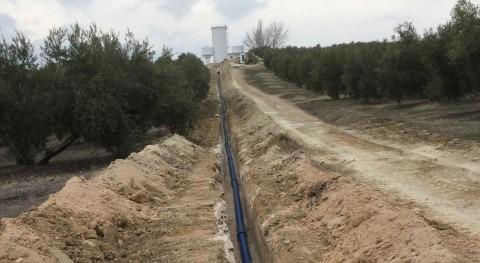 tuberías Saint-Gobain PAM transportan agua potable Sierra Villas Jaén