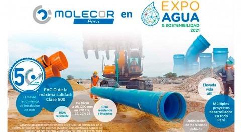 Molecor Perú participa Expo Agua y Sostenibilidad 2021