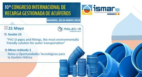 Molecor, patrocinador y ponente ISMAR10