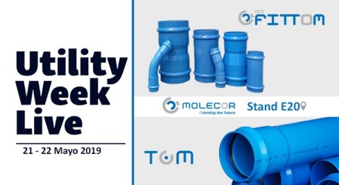 TOM® y ecoFITTOM® presentes Utility Week Live 2019