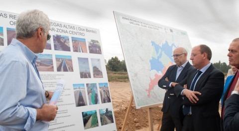 modernización regadíos y caminos rurales Vegas Altas cuenta inversión superior 11 millones euros