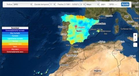 CSIC desarrolla sistema monitorizar sequía tiempo real