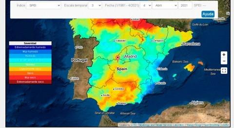 AEMET lanza nuevo sistema monitorizar sequías meteorológicas tiempo real