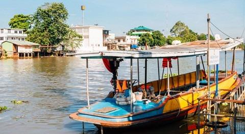 vigilancia agua tiempo real protege río Pa Sak Tailandia