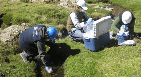 ANA Perú inicia sexto monitoreo calidad agua superficial cuenca río Ocoña