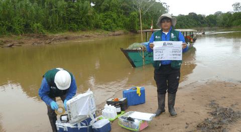 ANA Perú realiza monitoreo calidad recursos hídricos áreas naturales protegidas