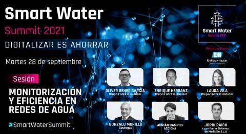 Monitorización y eficiencia redes: datos tiempo real mejorar gestión agua