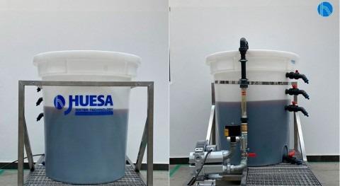 Pilotaje aguas procedentes producción extractos vegetales