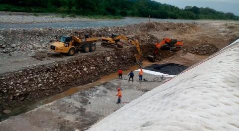 Panamá avanza obras encauzamiento río Guarumo, Berma
