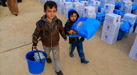 ayuda humanitaria Mosul disminuye pese falta agua debido al conflicto