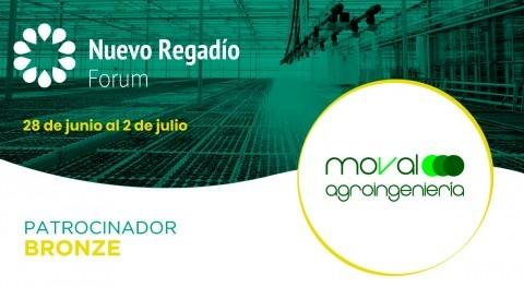 Moval Agroingeniería, empresa servicios especializada, Bronze Sponsor Nuevo Regadío Forum