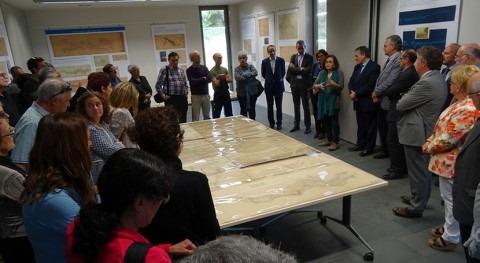 Inaugurada muestra cartografía instalaciones hidroeléctricas Pirineo