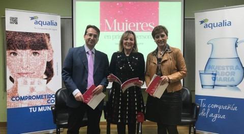 "Aqualia presenta libro ""Mujeres primera Persona"" Salamanca"