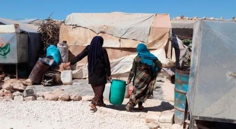 """norte Siria vive """"situación emergencia"""" falta agua potable"""