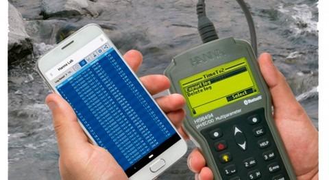 Portátil multiparamétrico digital telecontrol