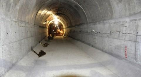 Finaliza excavación túnel que llevará agua riego y abastecimento Múltiple Chone