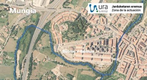 URA licita redacción proyecto defensa inundaciones Butrón Mungia