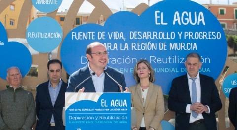 Gobierno murciano reclama urgencia Pacto Nacional Agua esta legislatura