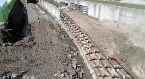 marcha acondicionamiento senda río Badella tramo urbano Bande