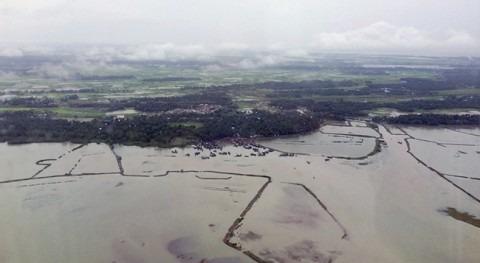 inundaciones Myanmar asestan duro golpe agricultura