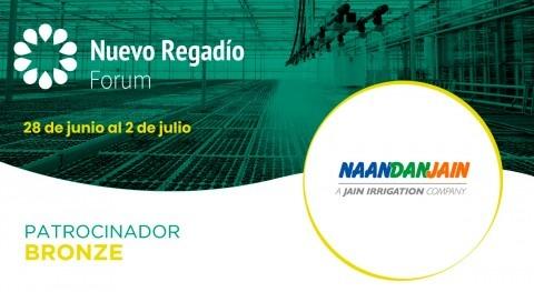 NaanDanJain Ibérica, especialistas riego goteo, Bronze Sponsor Nuevo Regadío Forum