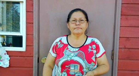 Nancy Mancilla, lideresa agua