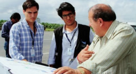 Constatan avance proyecto hídrico Naranjal