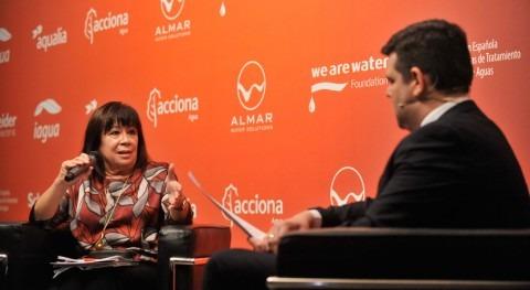 Cristina Narbona aboga cambiar política oferta agua España