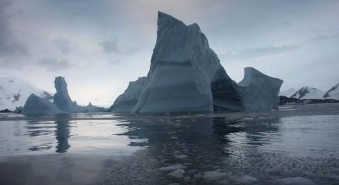 Plataforma de hielo Larsen B (NASA).
