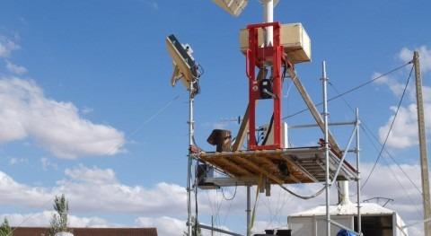 Pruebas sobre el terreno en La Guareña, dentro del proyecto de calibración del satélite SMOS.
