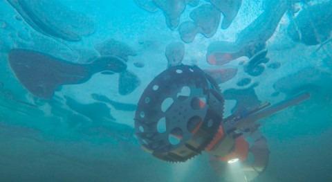 NASA prueba Antártida robot submarino lunas heladas