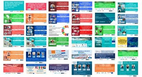 Balance año COVID-19 actividades Catalan Water Partnership