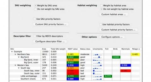 NEAT: Nace herramienta informática que evalúa estado ambiental mares europeos
