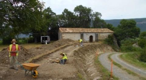 CHE comienza restauración ermitas entorno Yesa recrecimiento embalse