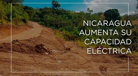 Nicaragua aumenta capacidad eléctrica
