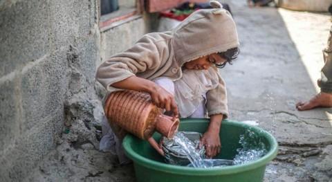 UNICEF, 90% niños Oriente Próximo y África viven zonas estrés hídrico