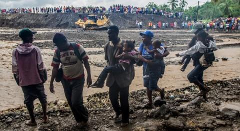 agua contaminada y inundaciones aumentan riesgo cólera Haití