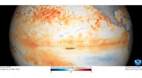 modelos climáticos indican que Niño probablemente será débil