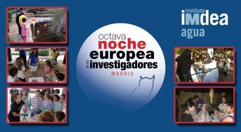 IMDEA Agua Noche Europea Investigadores Madrid