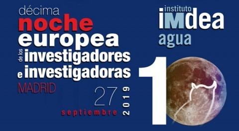 Investigando agua Noche Europea Investigadores e Investigadoras Madrid