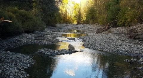 Finaliza actuación mejorar capacidad desagüe tramo río Noguera Pallaresa