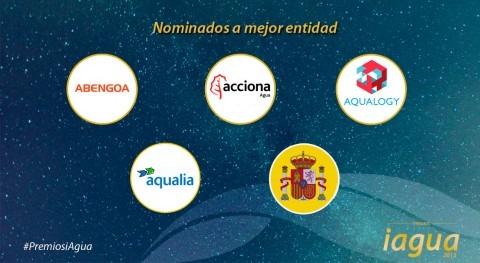 Estos son nominados Mejor Entidad Premios iAgua 2015