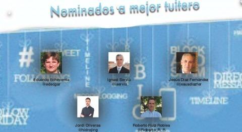 Quién será mejor tuitero #iAgua 2015