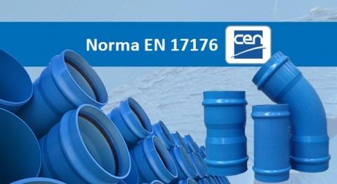 Publicada primera norma Europea, 17176, tuberías y accesorios PVC-O