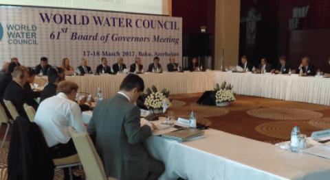 ANEAS participa 61° Junta Gobernadores Consejo Mundial Agua