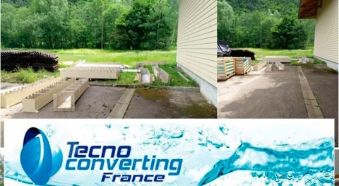 TecnoConverting Francia suministra toda decantación lamelar Bourg-d'Oisans