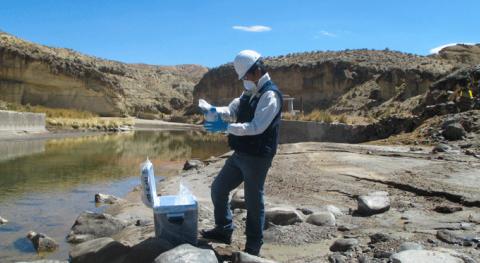 ANA presentó resultados monitoreo calidad agua río Chili