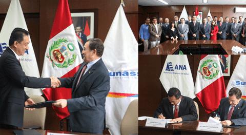 ANA fortalece gestión aguas subterráneas y restauración río Rímac convenio Sunass
