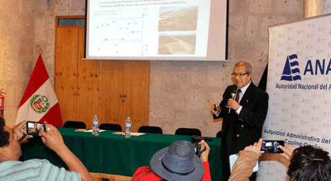ANA elabora plan mejorar eficiencia uso agua riego Arequipa